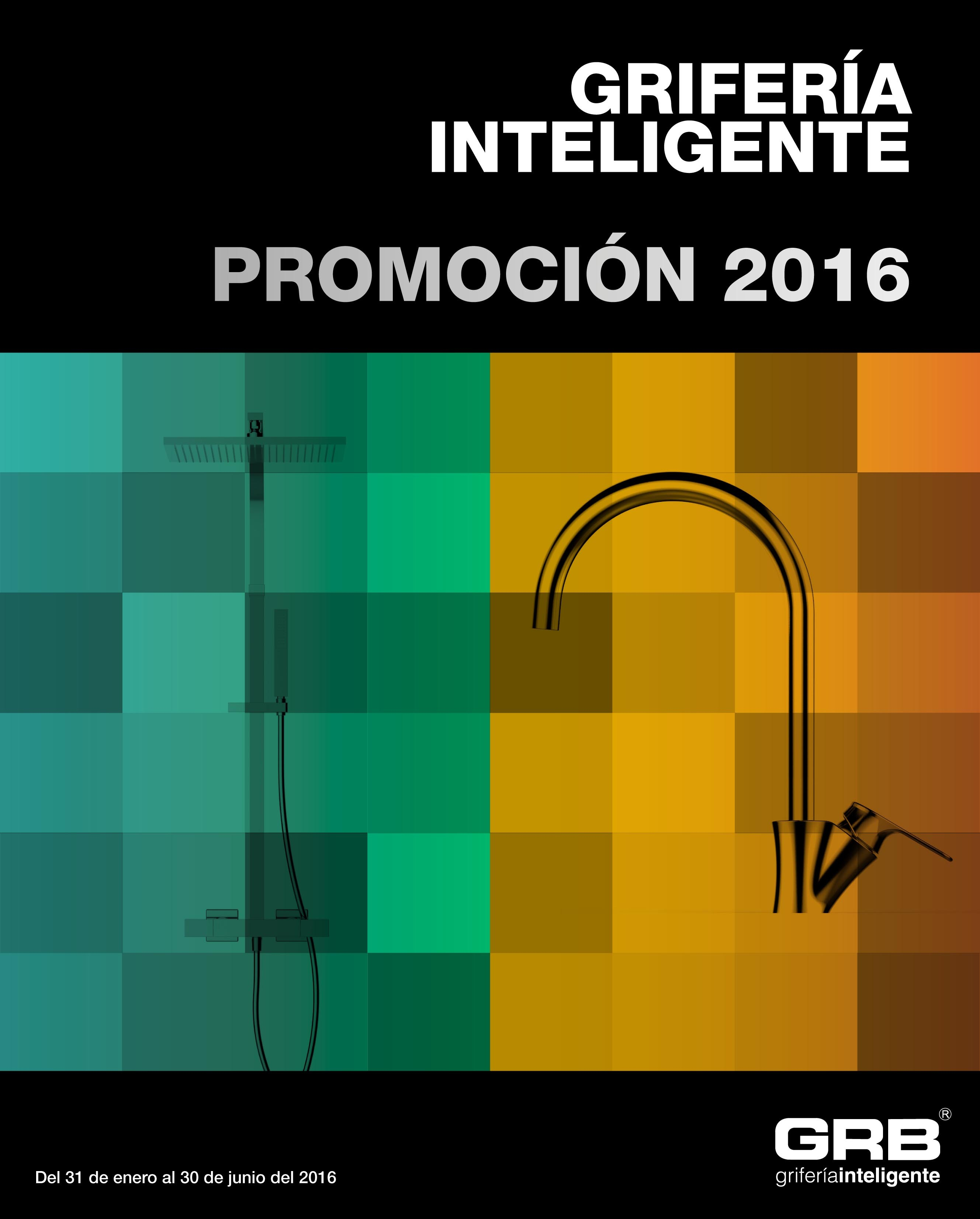 GRB GRIFERÍA PROMOCIÓN 2016