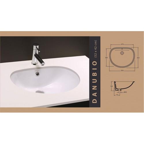lavabo Danubio (47x36 cm)