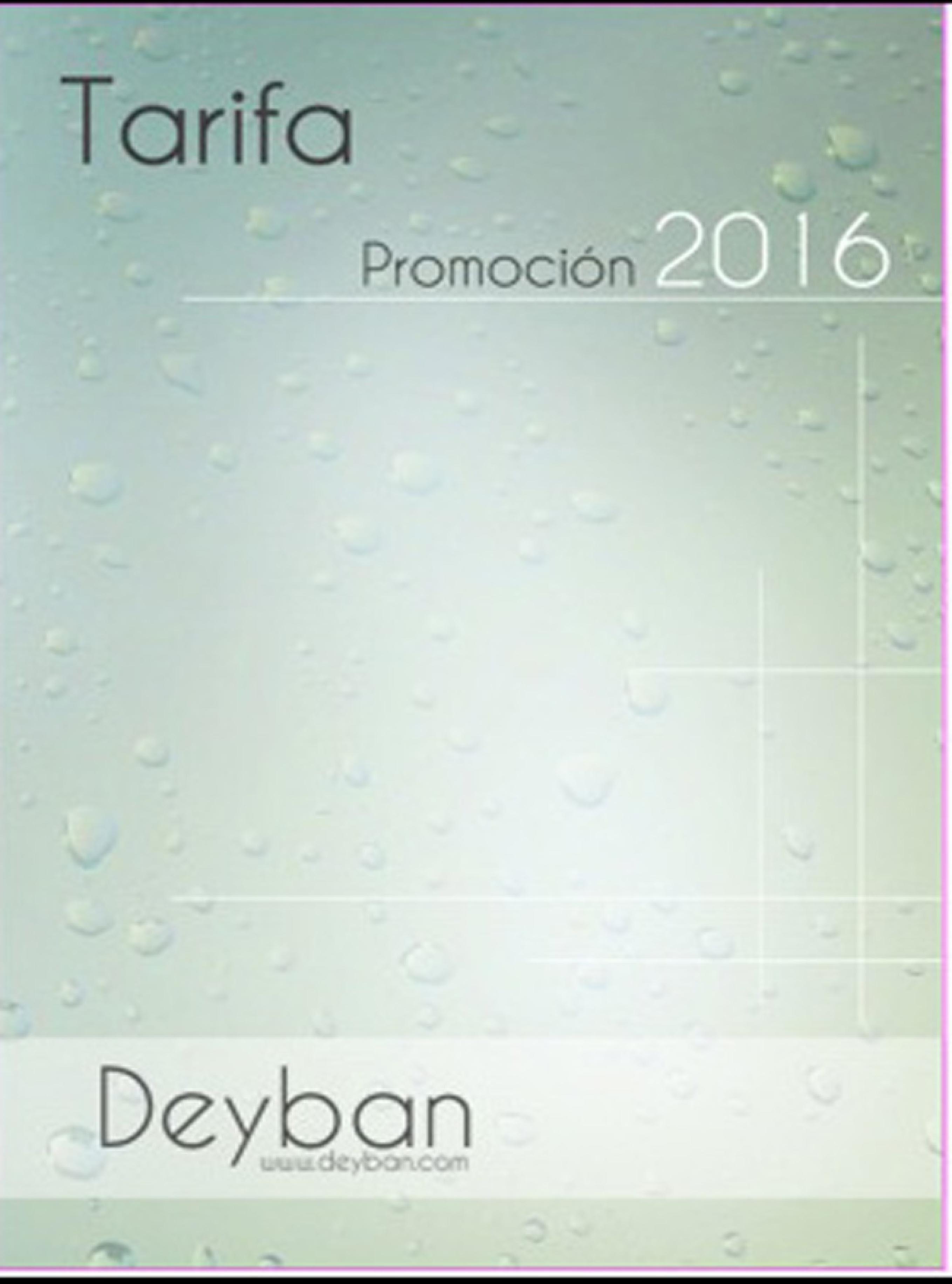 MAMPARAS DEYBAN CATÁLOGO PROMOCIÓN 2016